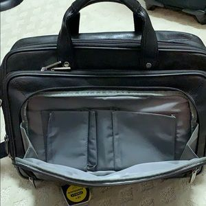 Heritage Bags - Leather travel briefcase